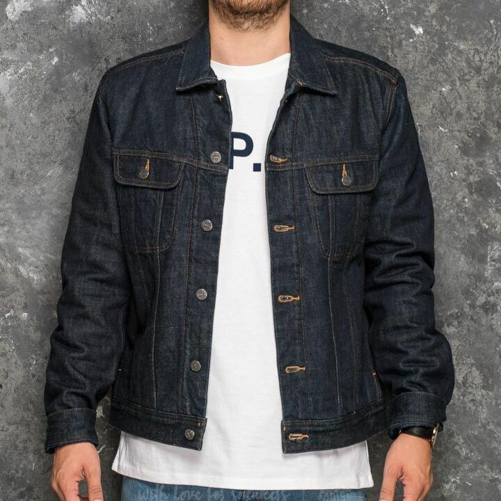 A.P.C. Flynn Jacket Indigo, Blue