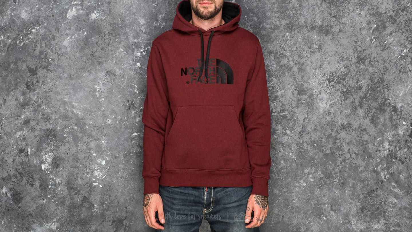 c1afcd4b The North Face Drew Peak Pullover Hoodie Cardinal Red Dark Heather