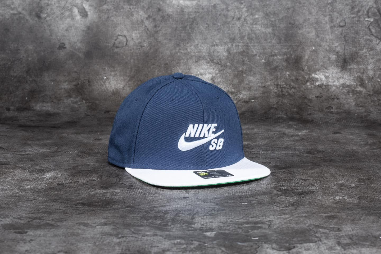 Nike SB Pro Cap Obsidian  White  Pine Green  Hydrogen Blue  aa72107cc11
