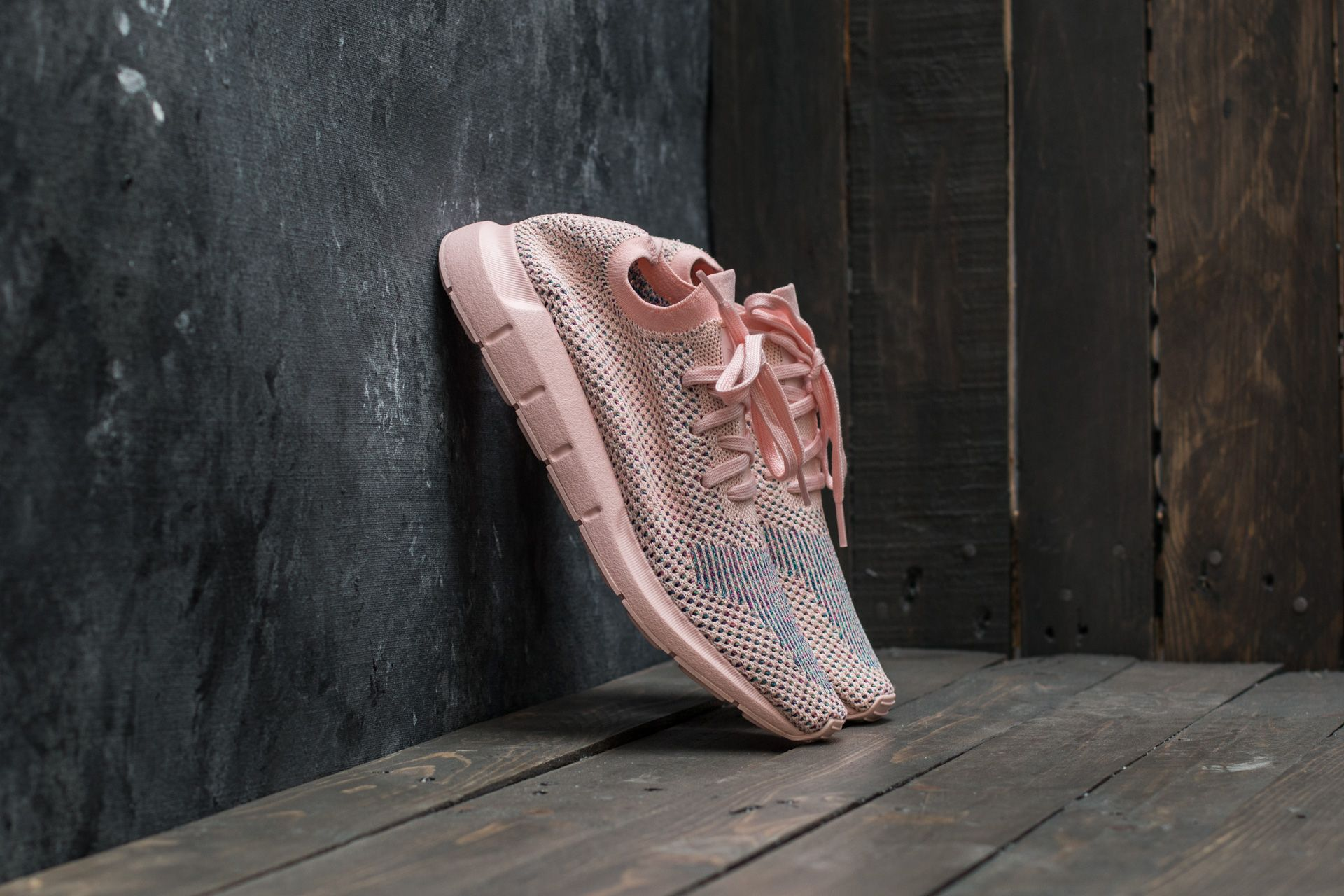 5f6b7a648 adidas Swift Run Primeknit W Icey Pink  Icey Pink  Icey Pink