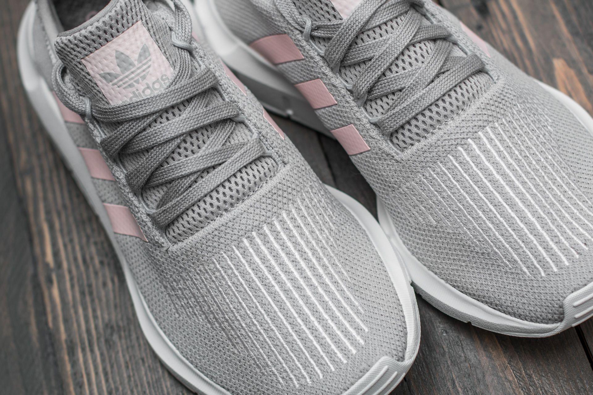 women's adidas swift run grey silver
