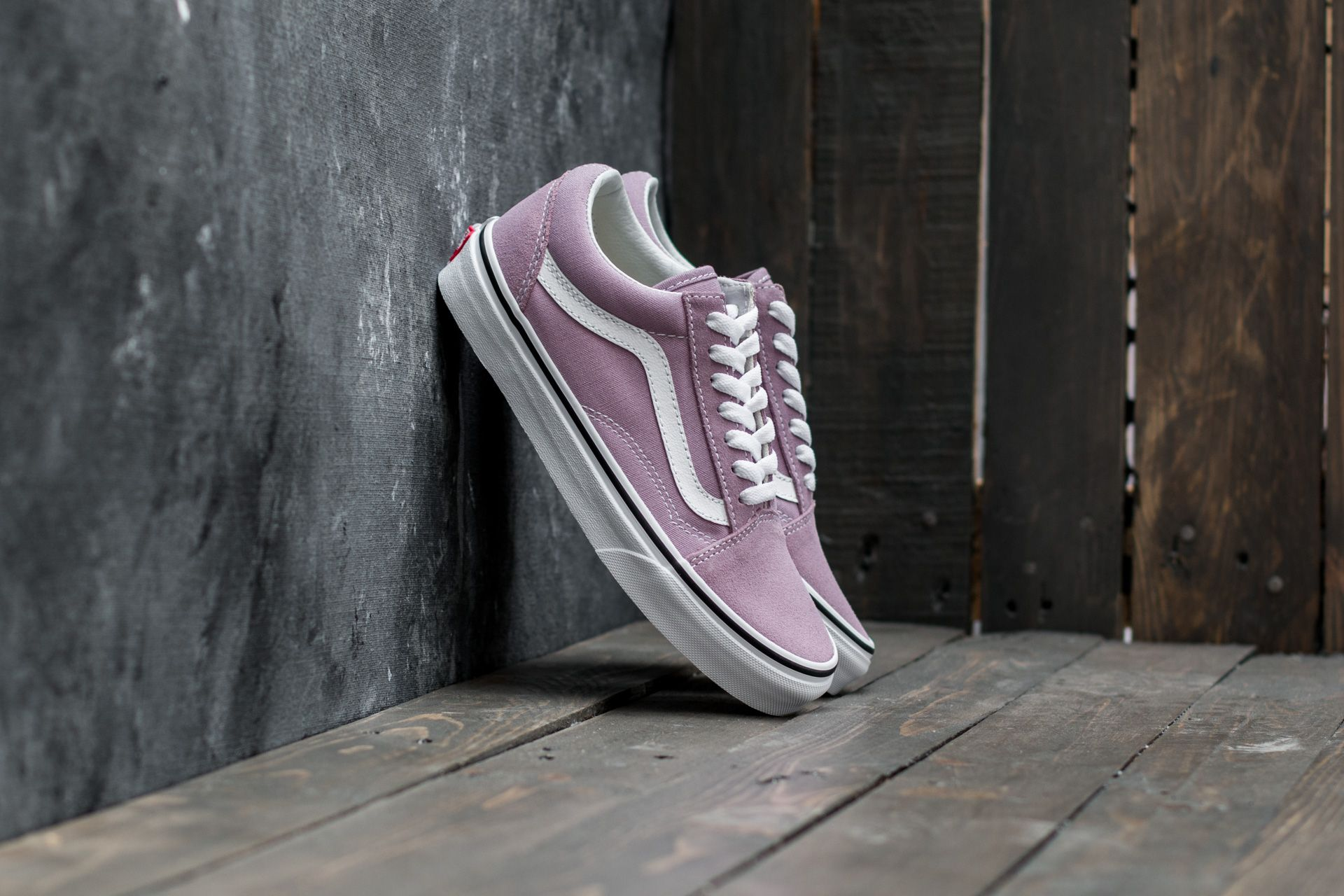 00bba02346e Vans Old Skool Sea Fog  True White