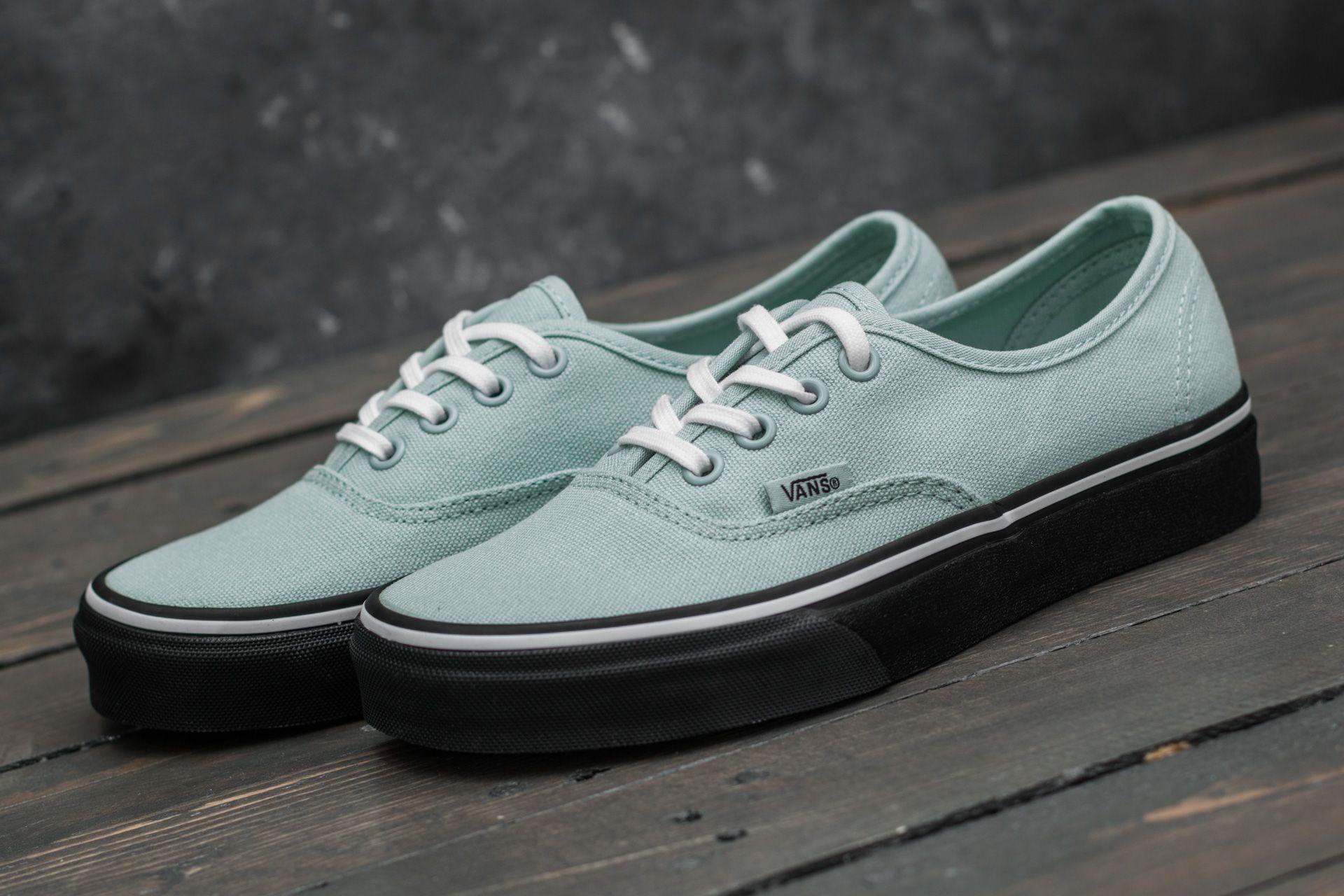 0c485c224e Vans Authentic (Black Outsole) Harbor Grey/ True White | Footshop