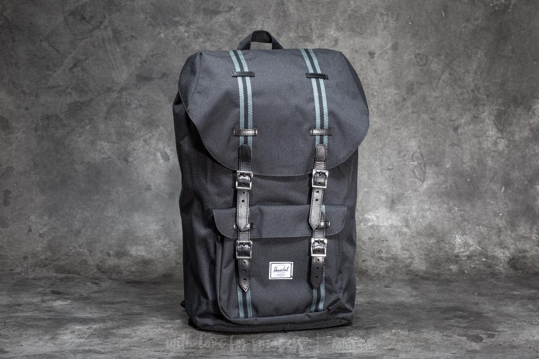 5dceb59b996 Herschel Supply Co. Little America Backpack Black  Dark Shadow ...