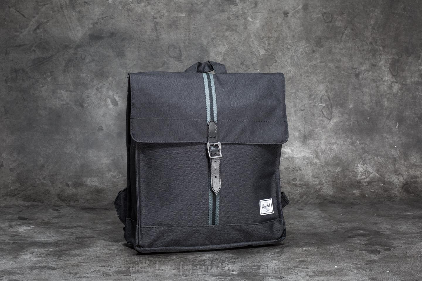80ab6913c8e3 Herschel Supply Co. City Mid-Volume Backpack Black  Dark Shadow ...