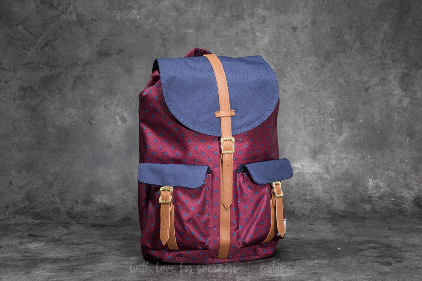 6806715058e Herschel Supply Co. Dawson Backpack University Windsor Wine ...