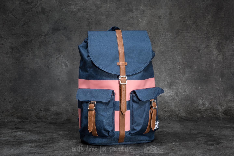 ae453fa6aea Herschel Supply Co. Dawson Backpack Navy  Strawberry Ice Rugby ...