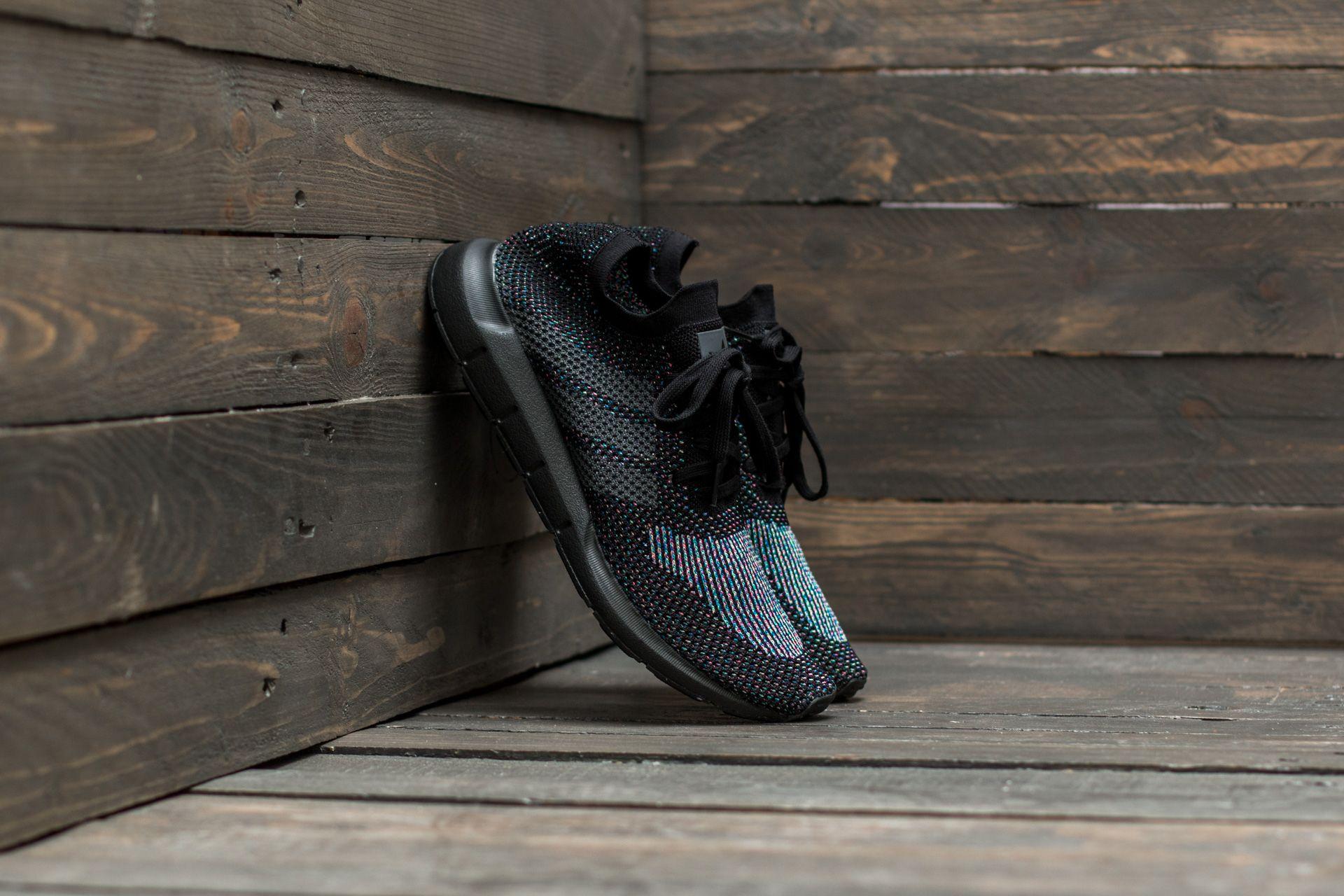 ed56f46a3 adidas Swift Run Primeknit Core Black  Grey Five  Core Black