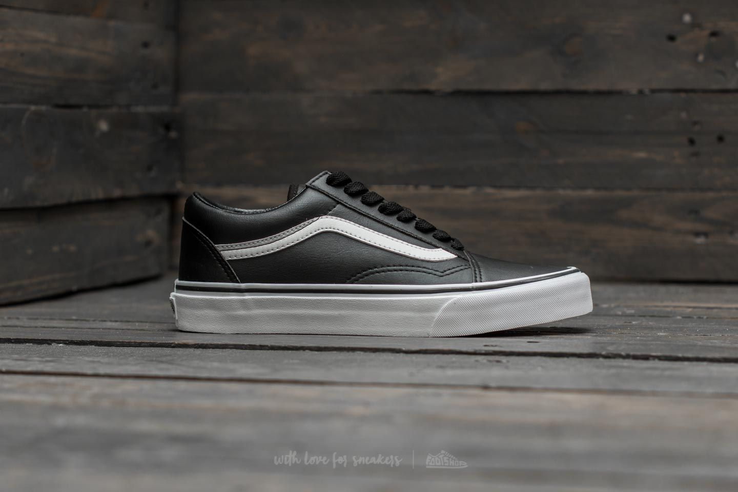 Vans Old Skool (Classic Tumble) Black  True White at a great price 86 8e020c1b6