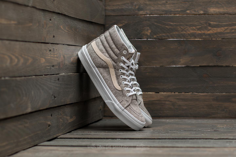 90170d2e97 Vans Sk8-Hi Slim (J S) Frost Gray  True White