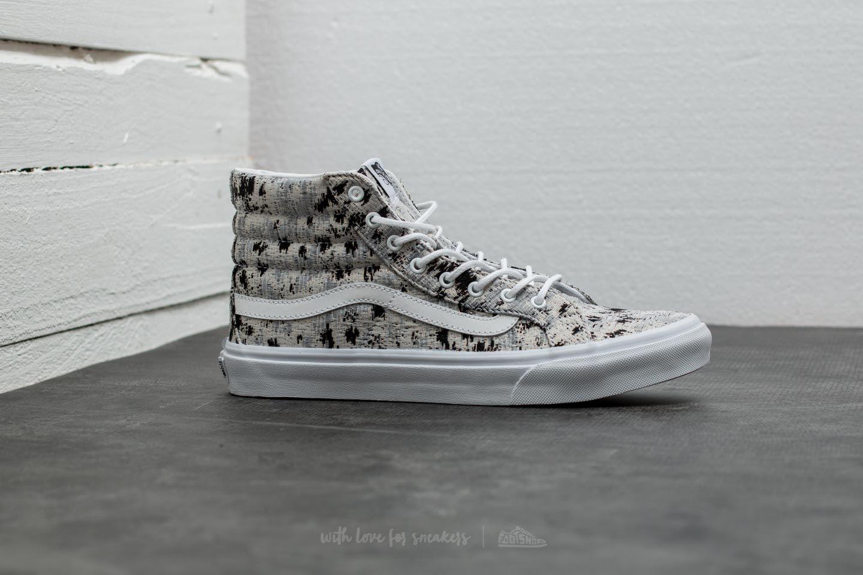 italian Footshop Abstract Vans Sk8 Slim True White Weave Hi aqq6xPtw d3d19e14f392