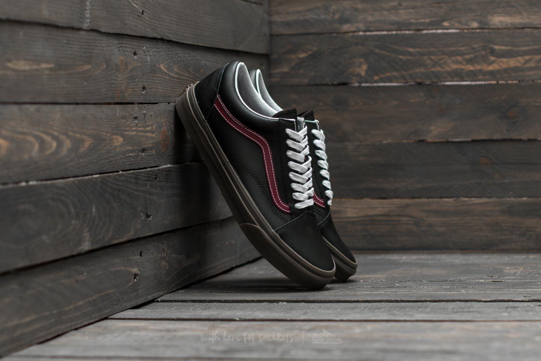 Vans Old Skool (Bleacher) Black  Port  Gum  ceadb2201