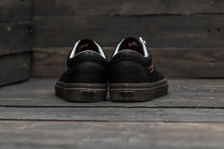 Vans Old Skool (Bleacher) Black Port Gum   Footshop