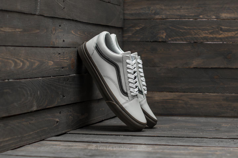 9e0670b7ab Vans Old Skool (Bleacher) Gray  Black  Gum