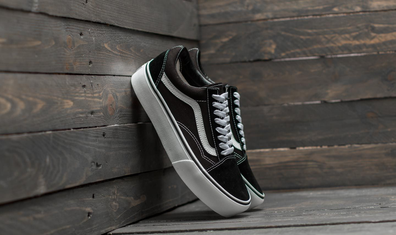 Vans Old Skool Platform Black/ White