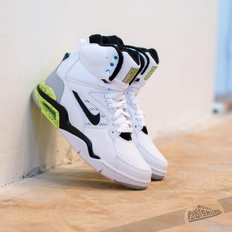 separation shoes 873b8 7dce4 Nike Air Command Force WhiteBlack-Wolf Grey-Volt