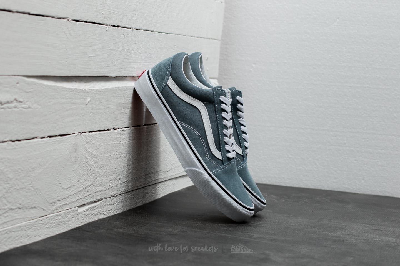 4c2fa0f6670 Vans Old Skool Goblin Blue  True White