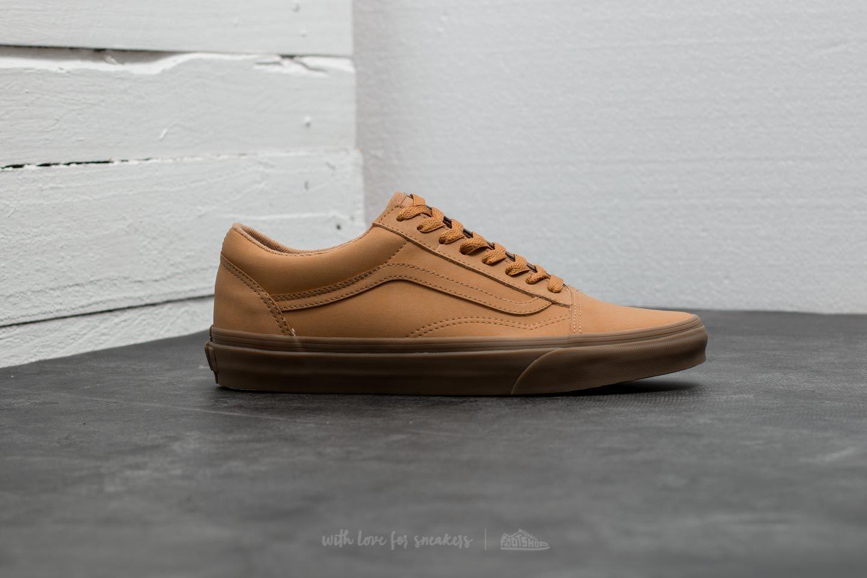 Vans Old Skool (Vansbuck) Light Gum Mono | Footshop