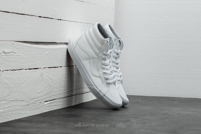 0bece0441e Vans Sk8-Hi Reissue (Classic Tumble) True White