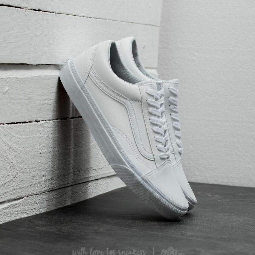 Vans Old Skool (Classic Tumble) True White EUR 42