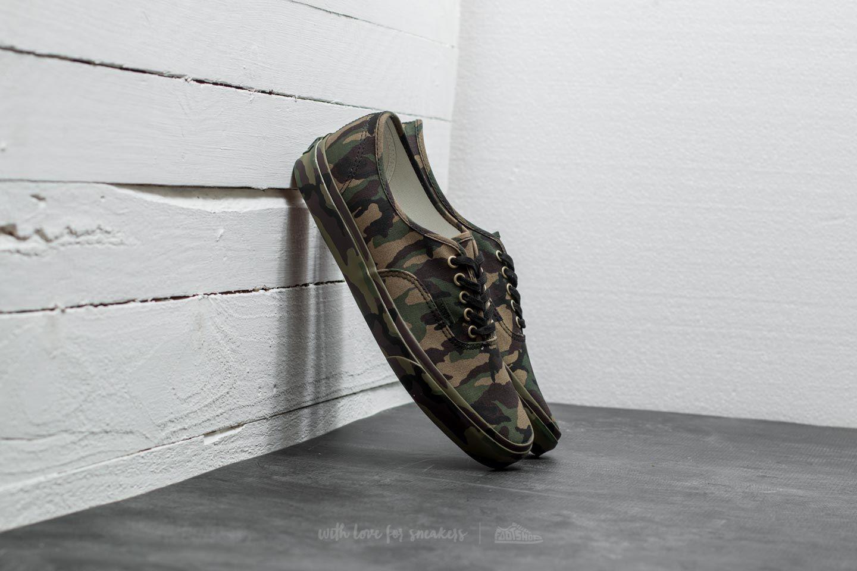 9d53450510ce15 Vans Authentic (Mono Print) Classic Camo