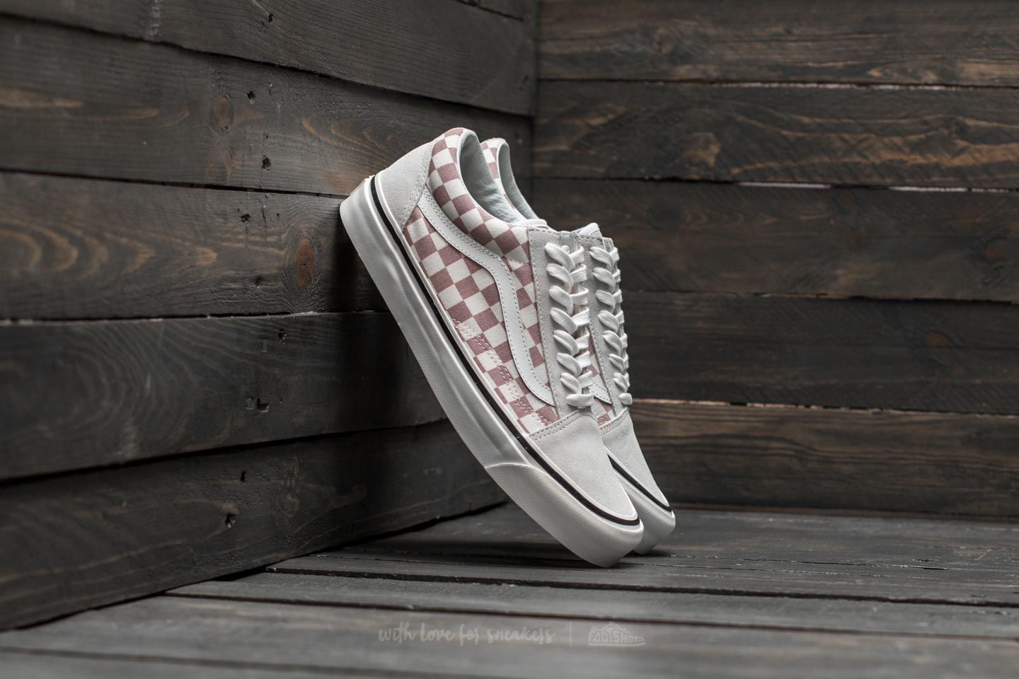 Vans Old Skool 36 DX (Anaheim Factory) Mauve  Check  8668459901f3