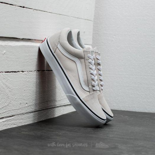 shoes Vans Old Skool Birch/ True White