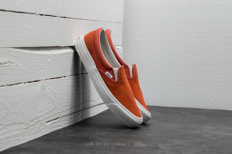 7782d32c50 Vans OG Classic Slip-On (Suede  Canvas) Autumn Glaze