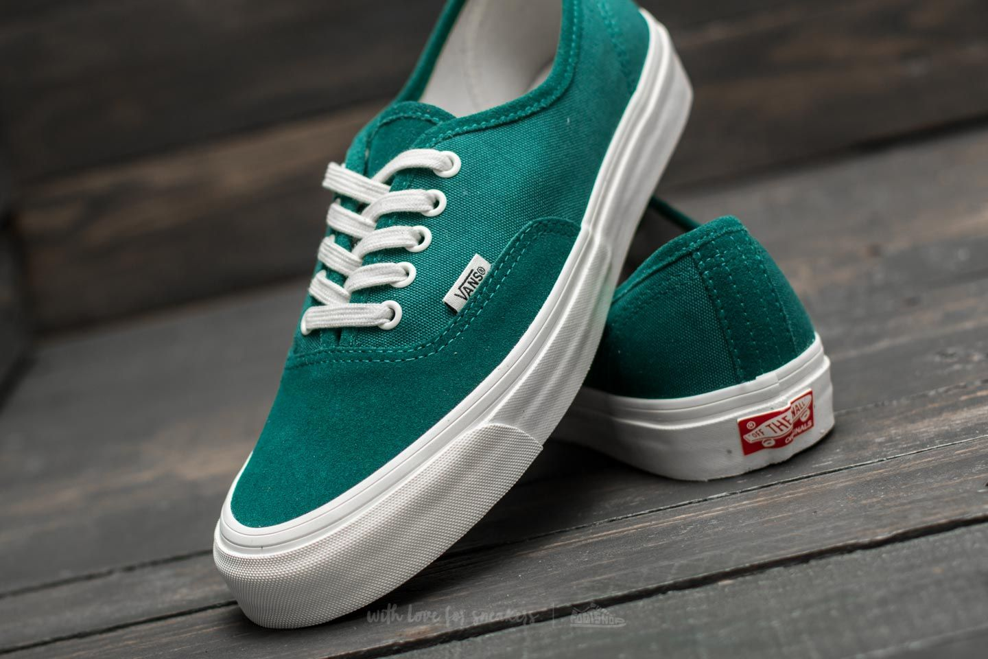 Vans OG Authentic LX (Suede  Canvas) Storm at a great price 70 € 9be73cc1fb