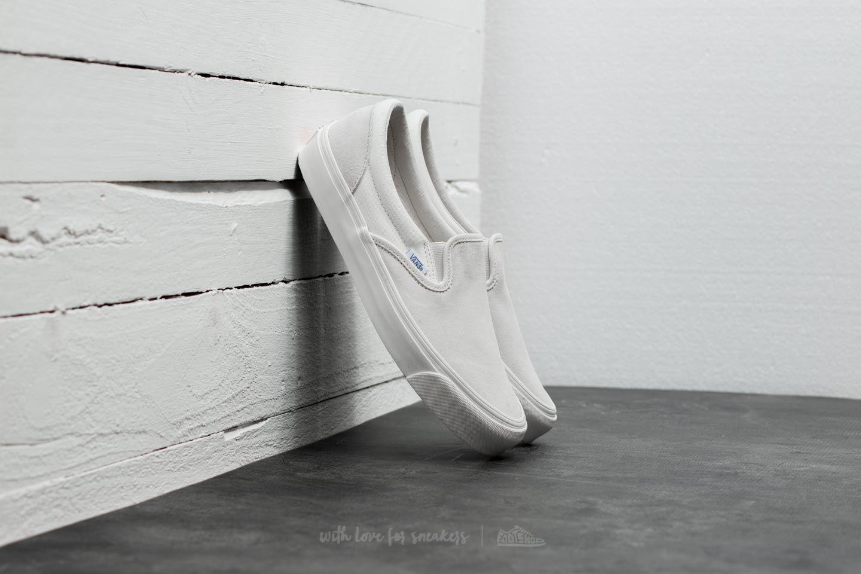 Vans OG Classic Slip-On (Suede/ Canvas) Egret/ Cloud Dancer za skvělou cenu 1 790 Kč koupíte na Footshop.cz