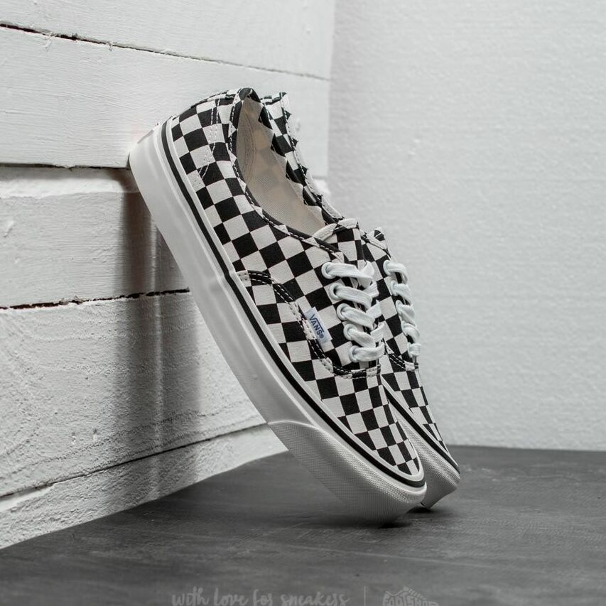 Vans Authentic 44 DX (Anaheim Factory) Black/ Checkerboard EUR 42.5