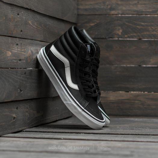 d84431ec73cb0 Vans Sk8-Hi Reissue (Classic Tumble) Black/ True White   Footshop