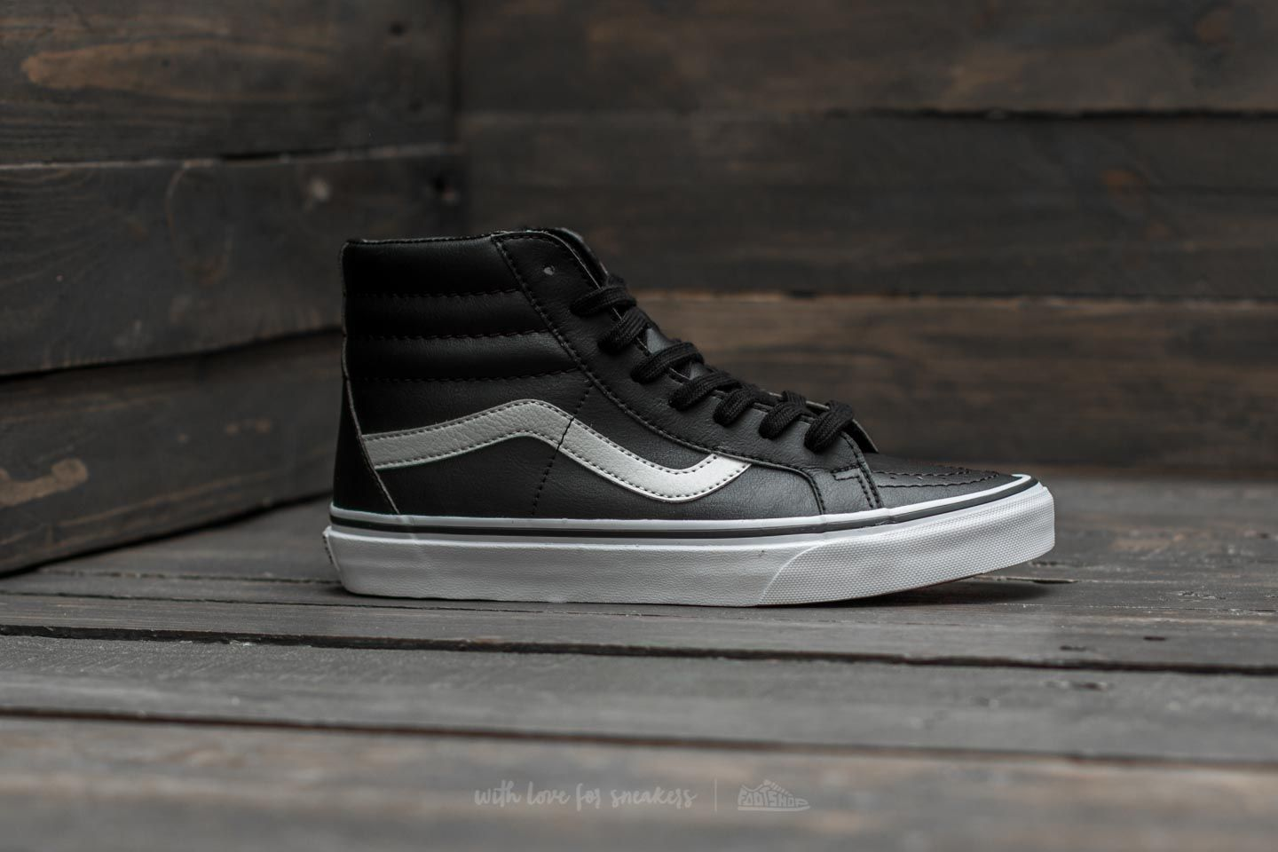 Vans Sk8-Hi Reissue (Classic Tumble) Black  True White at a great 8eb2d5a74
