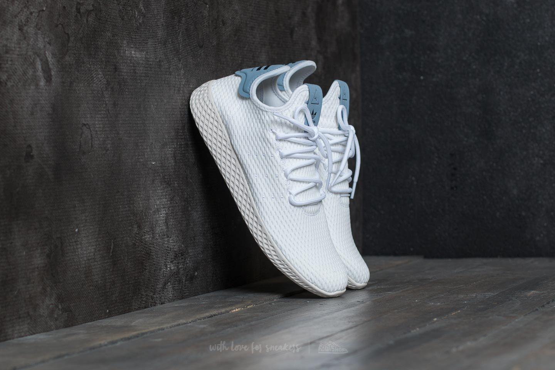 adidas hu white blue