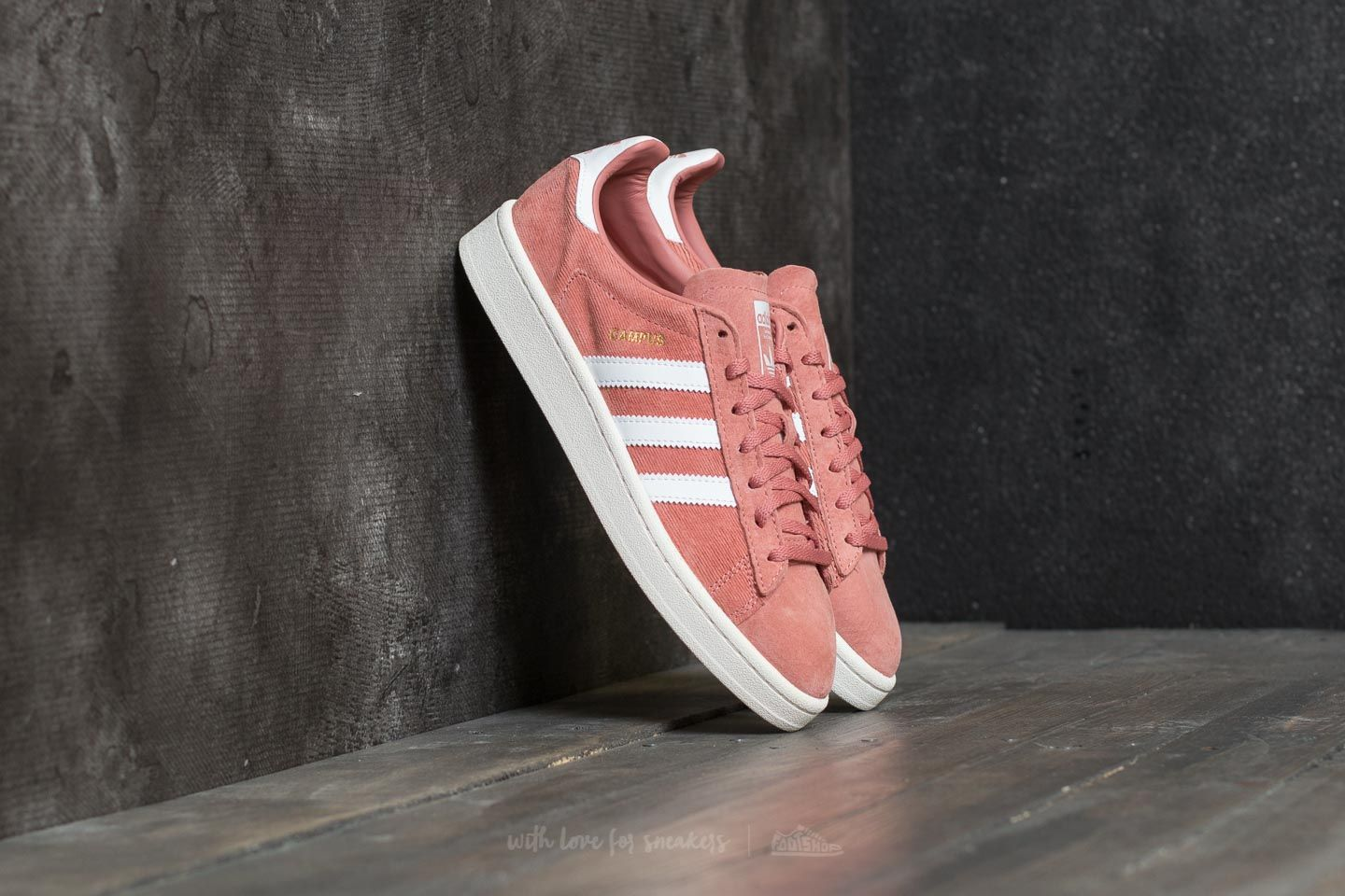 huge selection of abf63 69613 adidas Campus W Raw Pink Ftw White Chalk White  Footshop