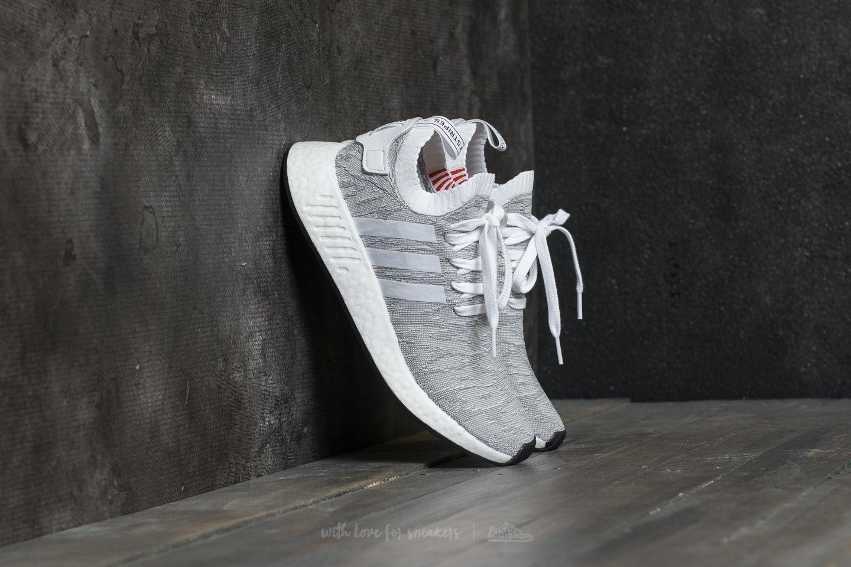 7d396fd61 adidas NMD R2 Primeknit Footwear White  Core Black