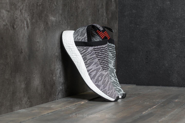 adidas NMD_CS2 Primeknit Grey Core Black Core Black