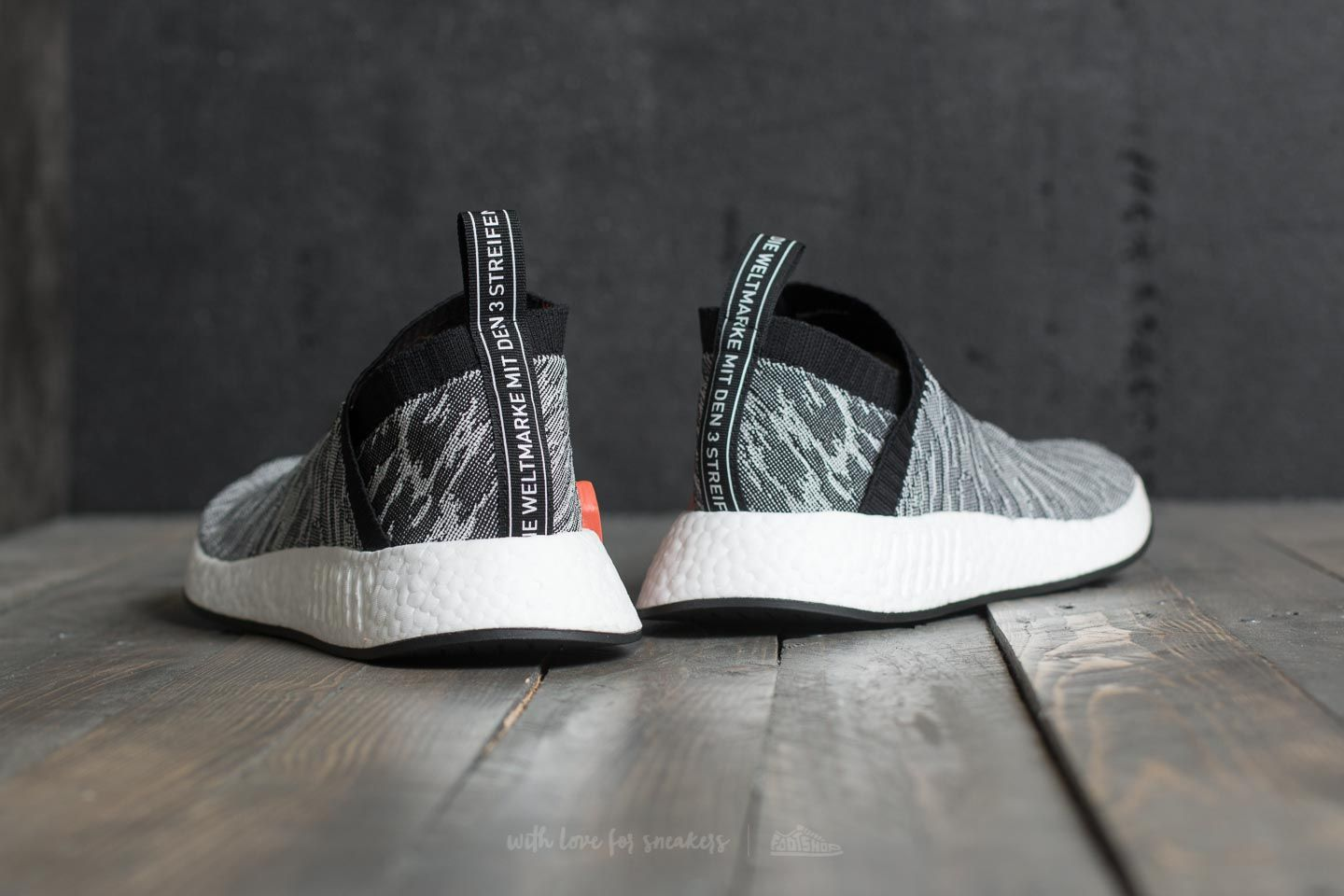 Adidas NMD_CS2 Primeknit greycore blackcore blackfuture