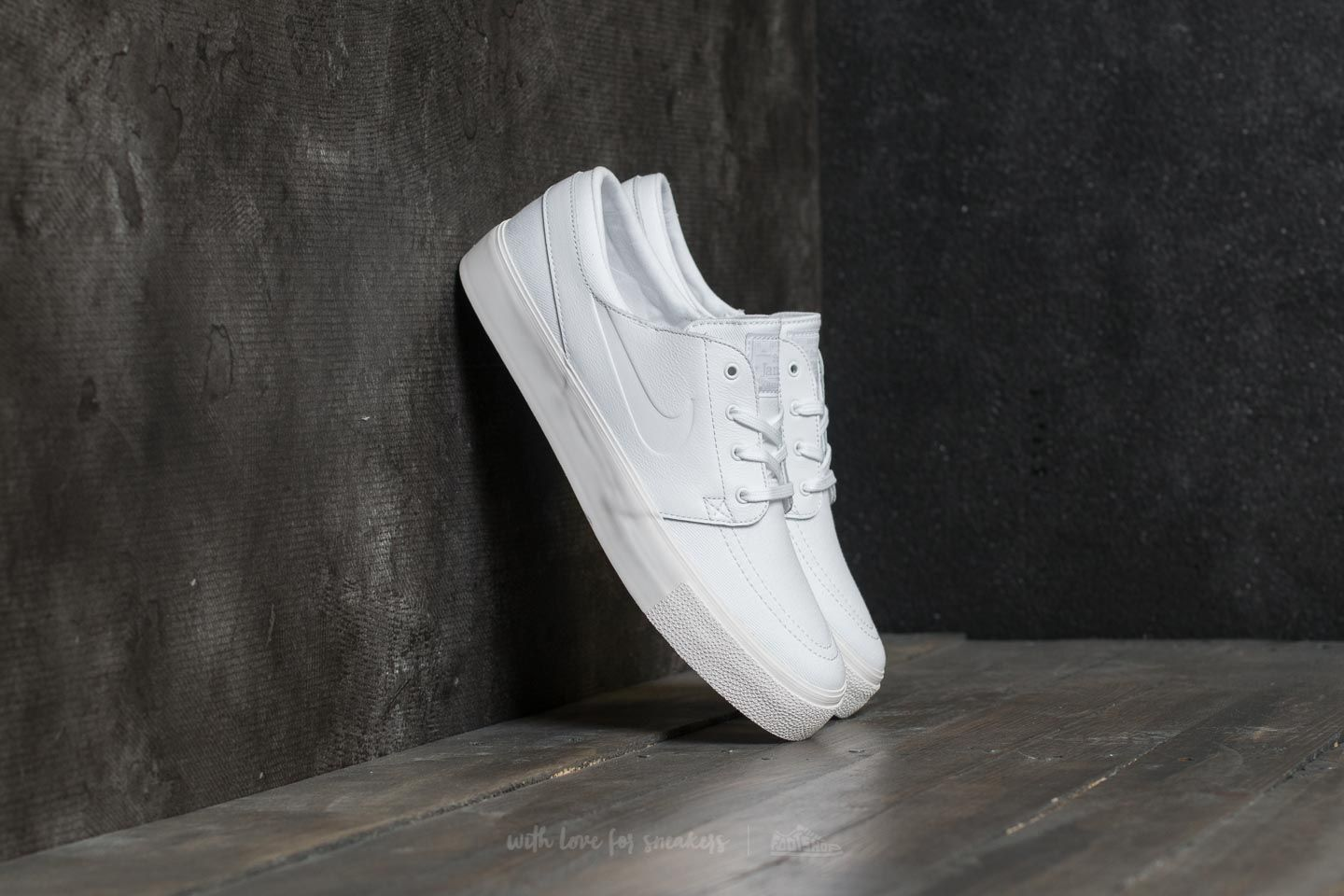 1568901a8cd Nike Zoom Stefan Janoski Elite HT White  White  Sail  Pure Platinum ...