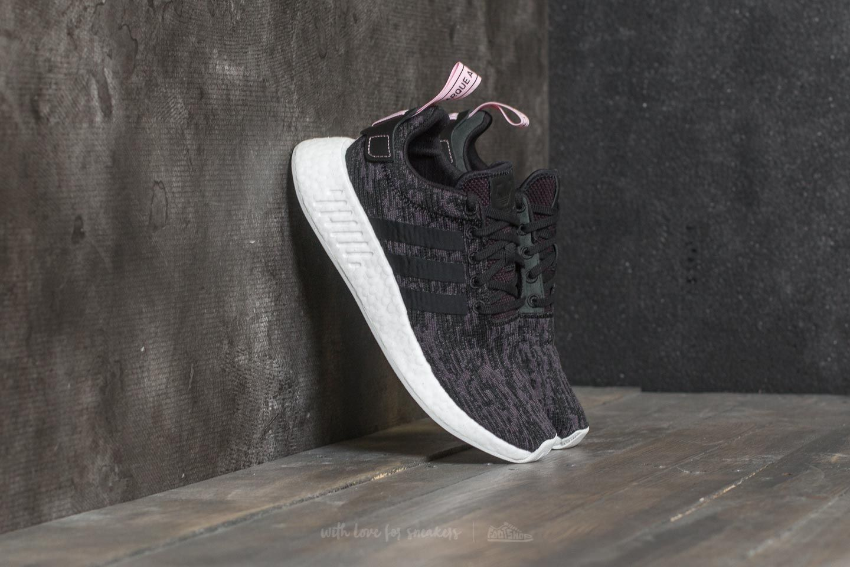 adidas NMD_R2 W Core Black/ Core Black/ Wonder Pink | Footshop