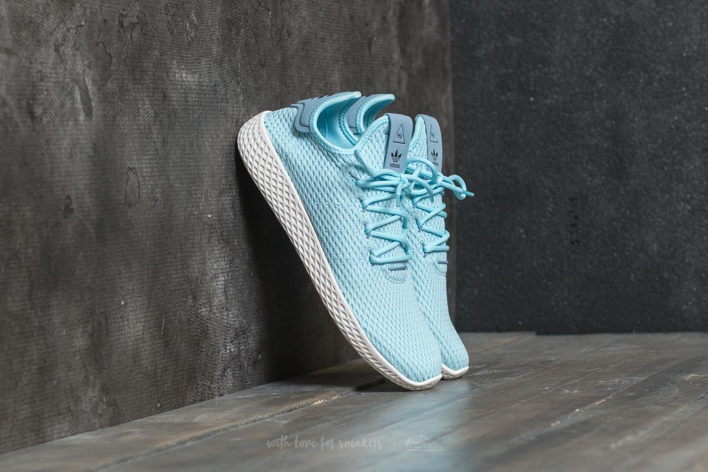 7028dd08fa844 adidas Pharrell Williams Tennis HU Ice Blue  Ice Blue  Tactile Blue ...