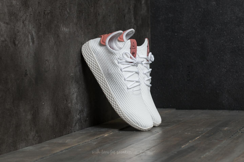 adidas Pharrell Williams PW Tennis HU Ftw White Ftw White Raw Pink | Footshop