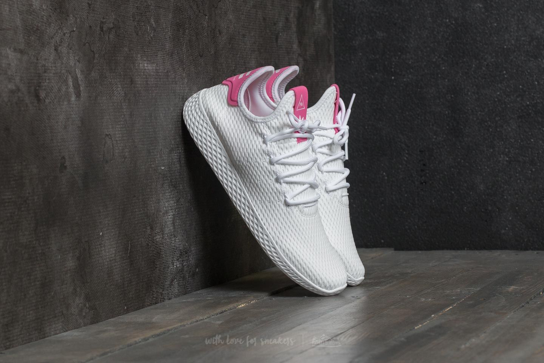 ce92904b1b9 adidas Pharrell Williams PW Tennis HU. Ftw White  Ftw White  Semi Solar Pink
