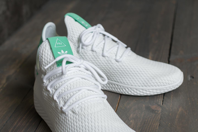adidas pharrell williams green white
