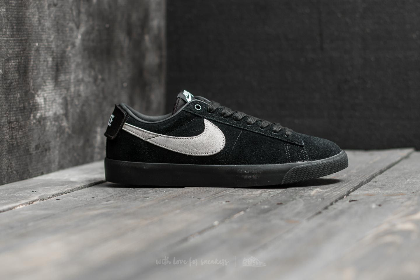huge discount c61d0 4b2c0 Nike SB Blazer Zoom Low GT Black/ White-Black | Footshop