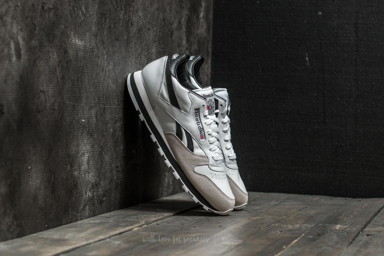 15dd04acbab Reebok Classic Leather TRC White  Black  Light Solid Grey