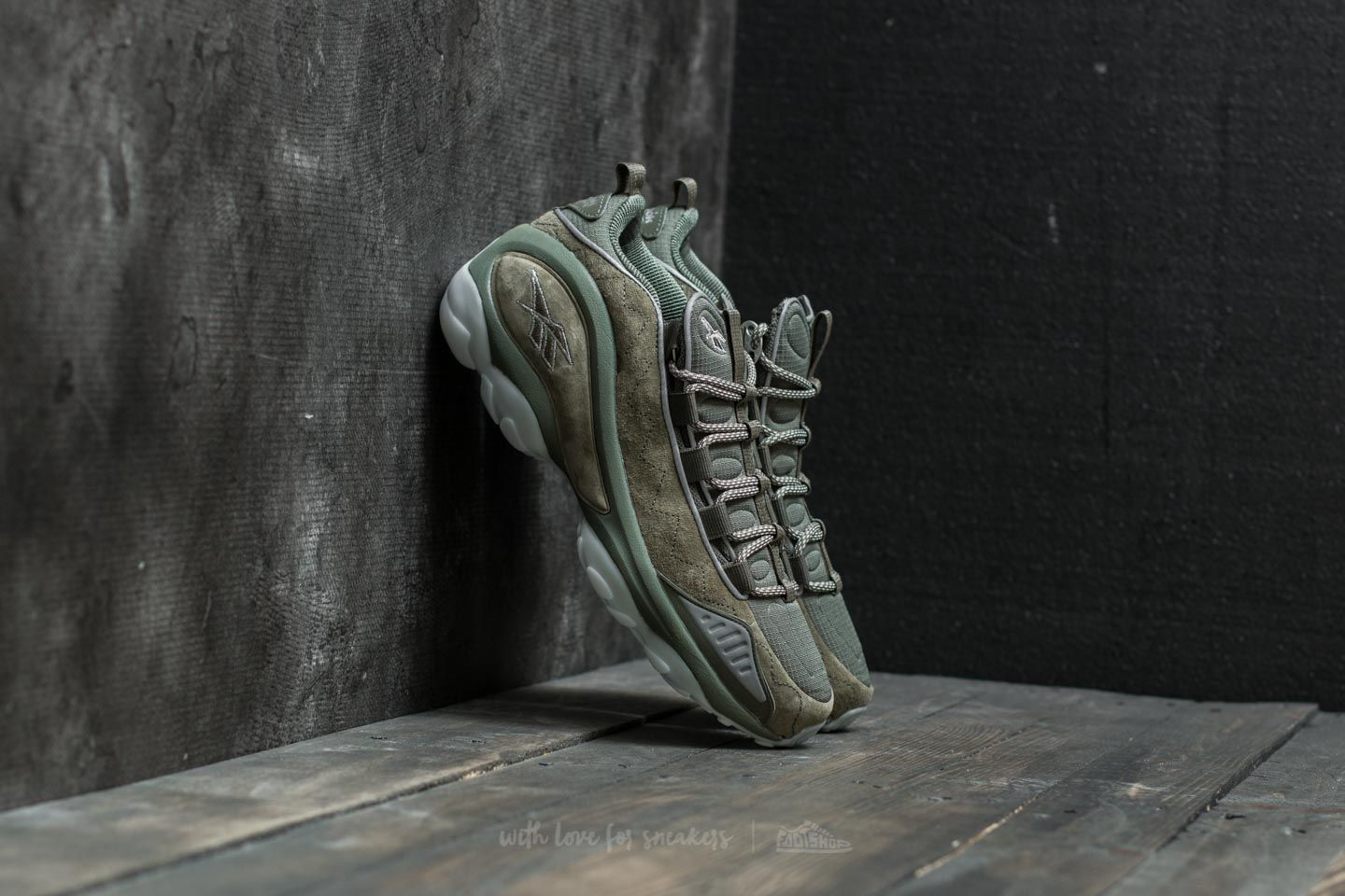 Reebok DMX Run 10 SE Hunter Green White Ice | Footshop