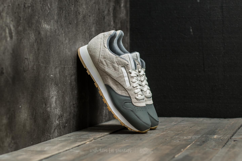 b5747e14ce6a Reebok Classic Leather LS Chalk  Alloy  White-Gum