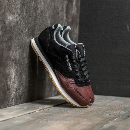 Reebok Classic Leather LS Black Burnt Sienna Ash Grey | Footshop