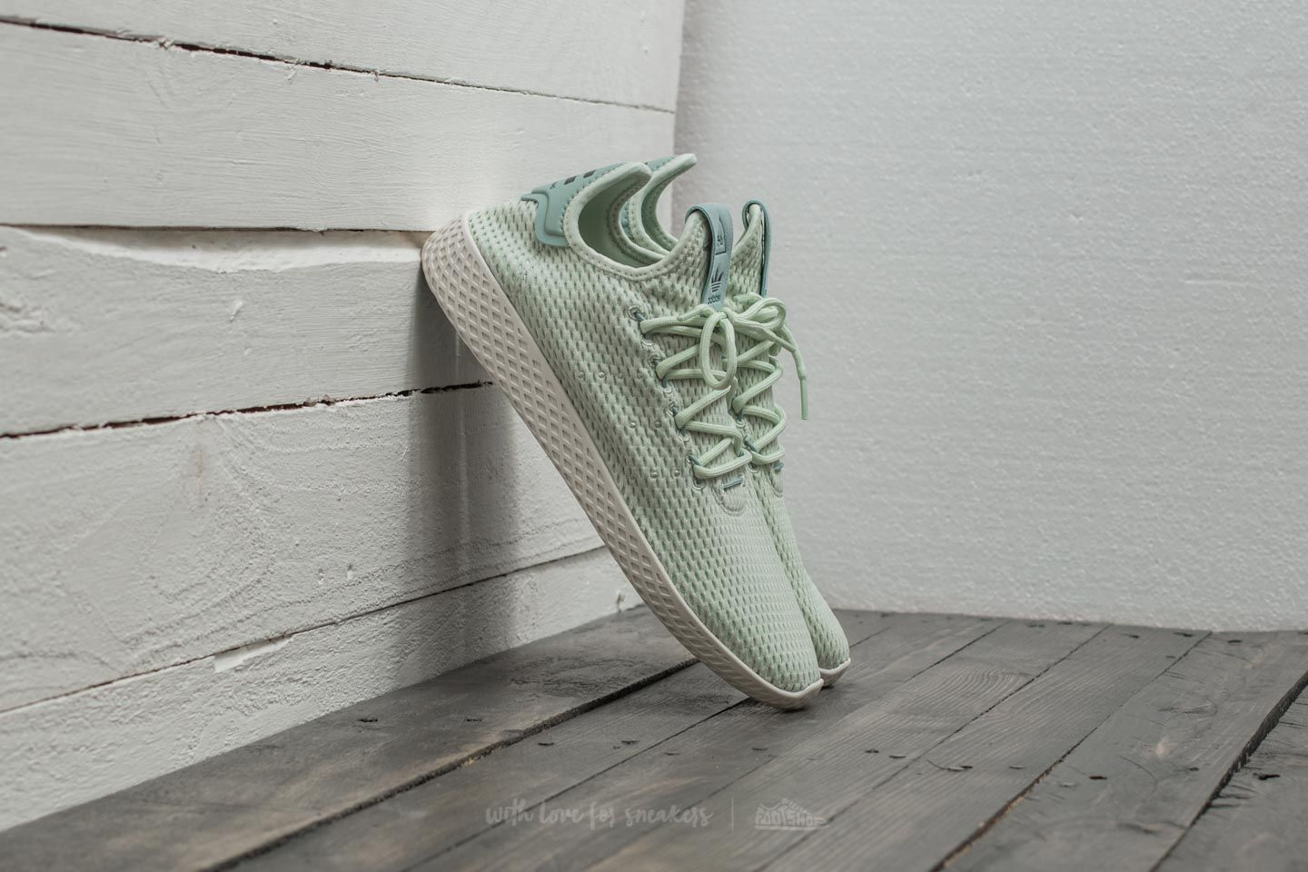 3e523382872b1 adidas Pharrell Williams PW Tennis HU Linen Green  Linen Green ...